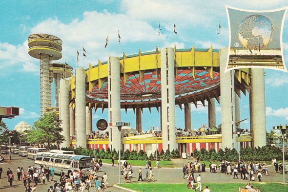 Anthony Auerbach: The New York State Pavilion for the 1964-65 World's Fair